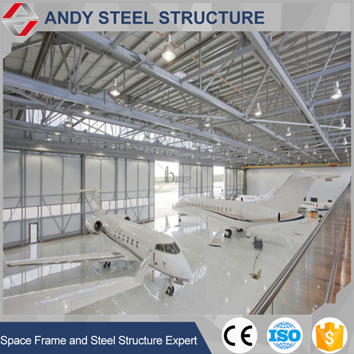 Galvanized light steel metal roofing framing for Aircraft Hangar