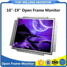 No Front Frame 19 inch TFT LCD Open Frame Monitor Touch Screen for Kiosk