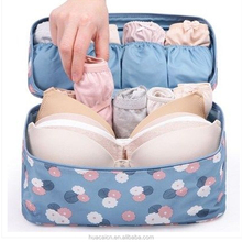 Multifunction 20 Patterns Traveling Packing Cubes Clothes Underwear Organizer Plain colors Storage Bra Bag
