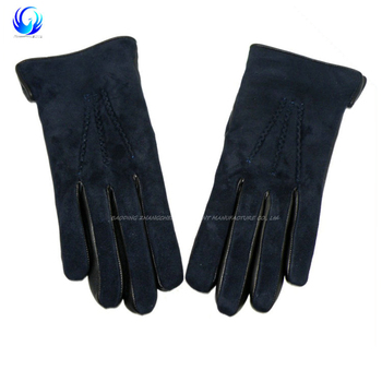 New style suede leather gloves with high quality