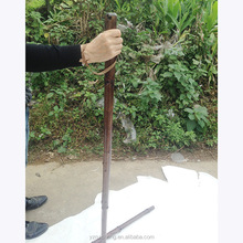 Handmade Outdoor Trekker Brown Twisted Wooden Hiking Walking Stick