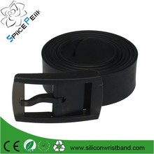 Silicon belts for men and women Unisex belt silica gel material environmental waterproof strong toughness