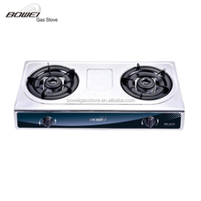 Double burner Small Gas Stove in hot sale, Indoor Portable Ga Cooker BW-2028