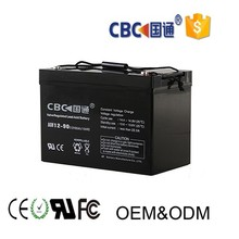 sloar system PV UPS 12v90ah rechargeable AGM lead acid battery