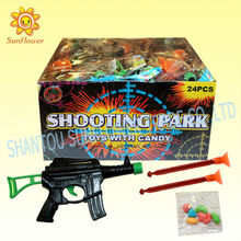 Candy With Toy Shooting Gun
