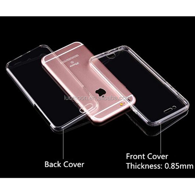 360 degree soft tpu full protective phone case clear transparent cover for samsung galaxy s3 9300
