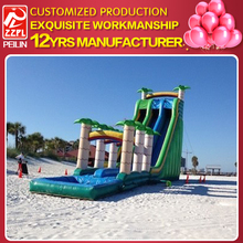 ZZPL Factory Whosale commercial inflatable water slide WSR-67