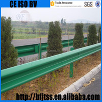 chinese provider Galvanized Guardrail Price railing stainless steel highway guard rails