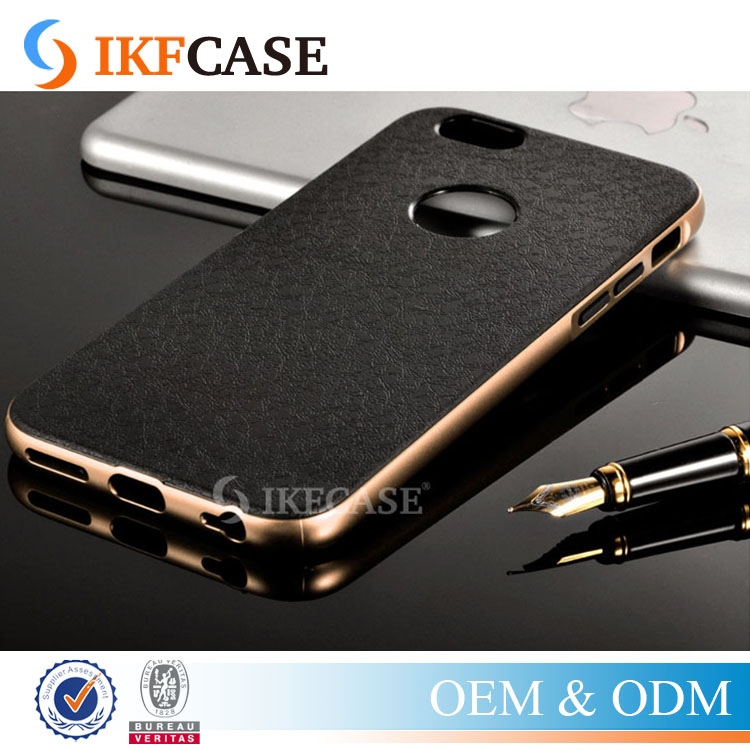 Luxury Business 2 in 1 Metal Chrome Frame + Soft Back Cover For iPhone5 5S 5G SE Retro TPU PC Hybird Case