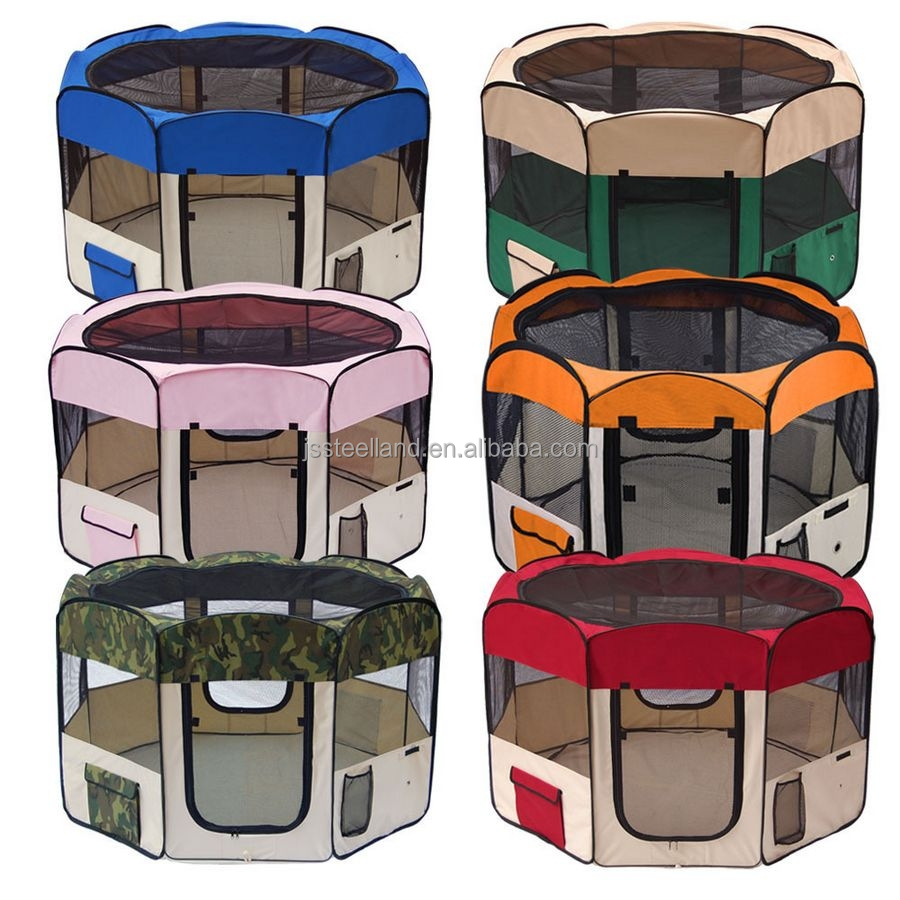 foldable fabric dog exercise pens pet soft cage