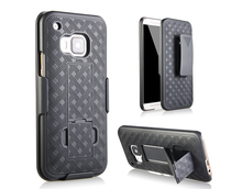 High quality Hybrid Armor Shockproof Heavy Duty Kickstand Robot Cell Phone Cover Mobile Phone Case For HTC M9