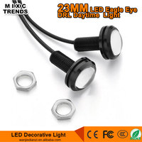 23MM 12V 3W High Power LED Eagle Eye Auto COB Bulb Turn Parking Car Daytime Running Light
