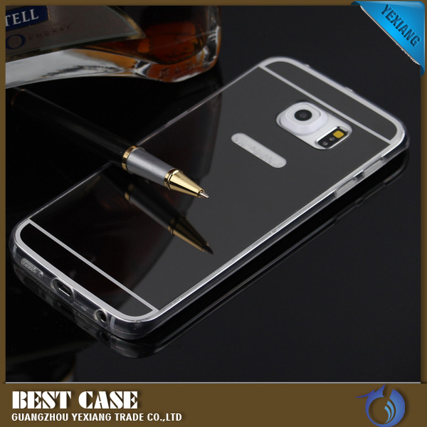Mirror phone case for samsung galaxy s6 edge plus soft tpu for Mirror your phone