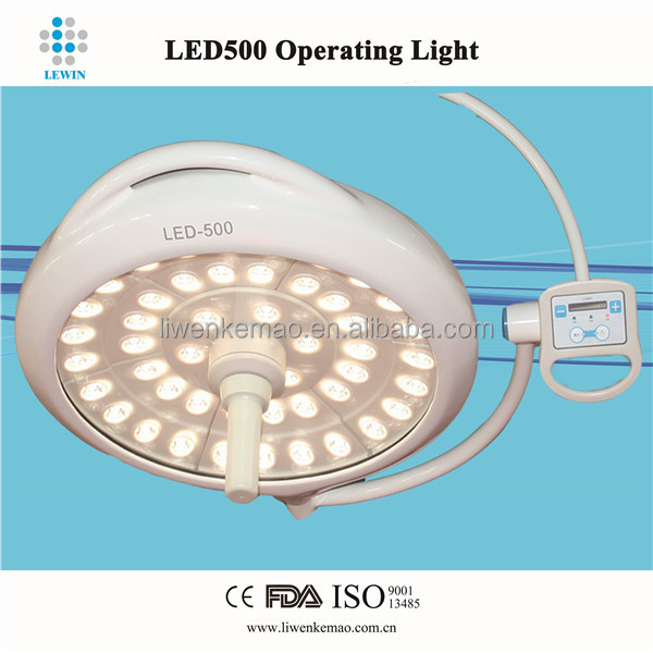 LED operation theatre light single dome