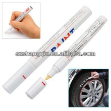 White Permanent Car Tyre Tire Metal Paint Pen Marker Garden, Lawn, Supply, Maintenance