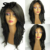 Short Wavy Full Lace Wig Human Hair With Baby Hair