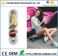 Fitness equipment CITY HERMIT 2015 New Design 100 canadian maple skateboards Professional Leading Manufacturer