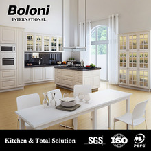 Italian design & China professional manufacturer kitchen set for home and project use