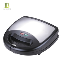 2018 Hot Sale 2 Slice Detachable Sandwich Maker Toaster with Non-stick Coating Plate