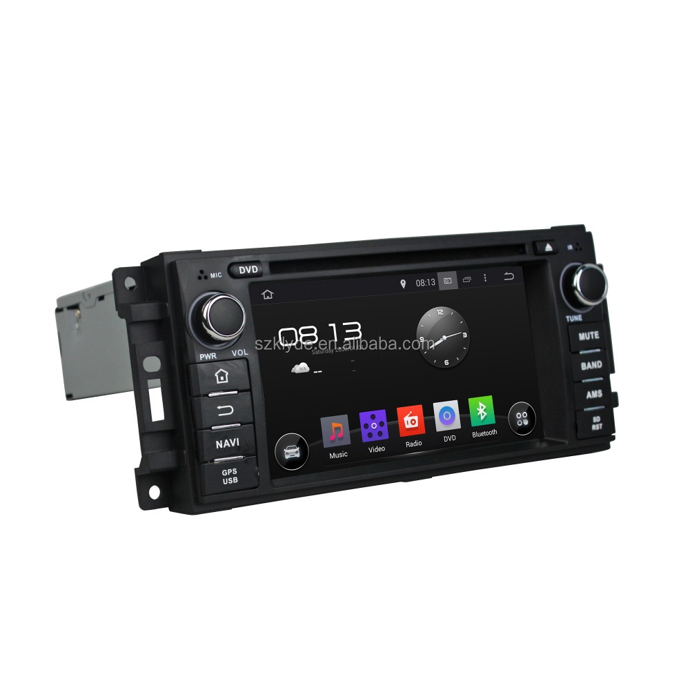 Andriod 5.1 Touch screen car radio for Chrysler/Jeep dodge/Commander/Caliber/ Grand cherokee car dvd radio gps navigation BT TV