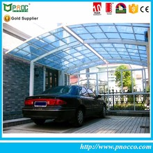 Wholesale custom car parking single portable car fiberglass carports supplier
