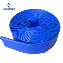 Cheap big diameter heavy duty mining 1 inch pvc lay flat hose factory supplier