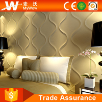 Fashion Interior 3D Wall Panel Bamboo For Living Room
