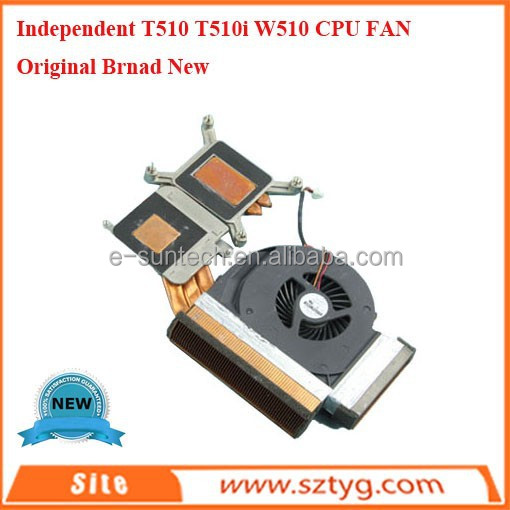 Genuine Thermal Module Heatsink Fan For Thinkpad W510 T510 T510i Series Notebook P/N: 60Y5494 60Y5493