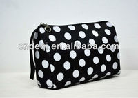 2013 lady's casual design polyester cosmetic bag