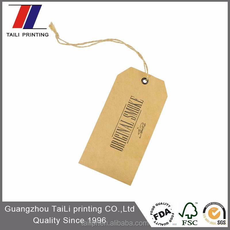 Hot sell kraft paper hand tag