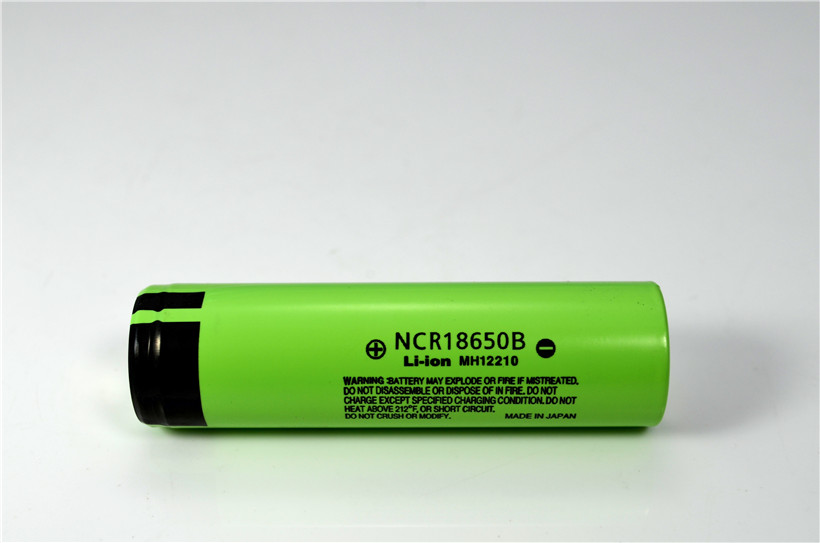 High quality and authentic 3.7V 3400 mAh NCR18650B 18650 rechargeable li-ion battery