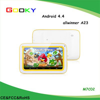 Kids a23 7 inch tablet with removable battery