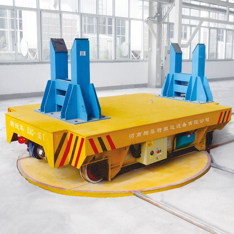 Heavy duty motorized die transport vehicle electric for Motorized turntable heavy duty