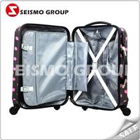 airport hand luggage carts trolley colorful travel lightweight luggage