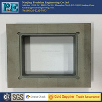 Custom precision cnc milling grey ABS plate from China factory