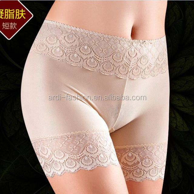 hot selling ladies women sexy mesh lace underwear shorts boxer