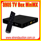 Caixa de TV Android 2G RAM 8G ROM Amlogic S905 MiniMx Hd iptv para o hotel Set Top Box 2.0 GHz Quad Core Google TV Box XBMC/KODI 16.0