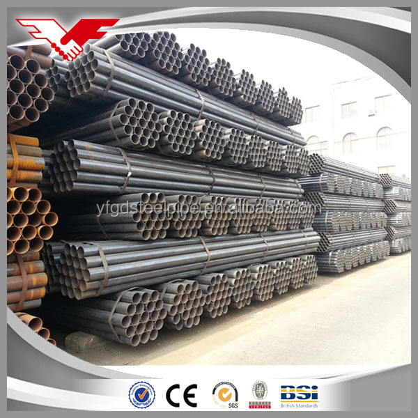 black pipe black tube ! carbon pipe/2 inch black iron pipe specifications/schedule 80 carbon steel pipe price per meter