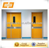 ZG0137 High quality cheap manual swing hermetic hospital door clean room door fire resisting door