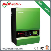 <MUST SOLAR>1000w power inverter with battery charger power inverter 1kw Solar Inverter with 100VDC PV array power