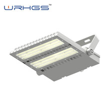 Pir Motion Sensor White Color Aluminum Alloy Dimmable LED Flood Light 200w