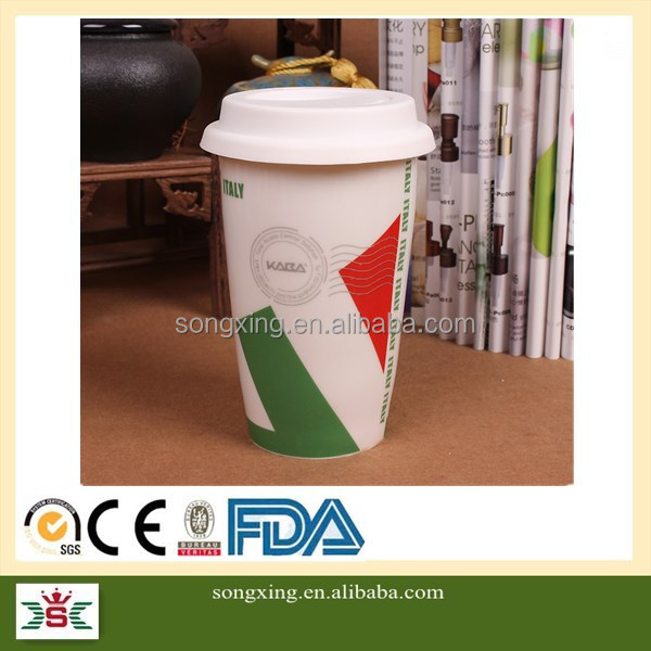 Top quality promotional whole sale cheap stoneware souvenir different country coffee mug