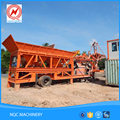 35m3/h productivity ISO CE portable mobile bag concrete mixer