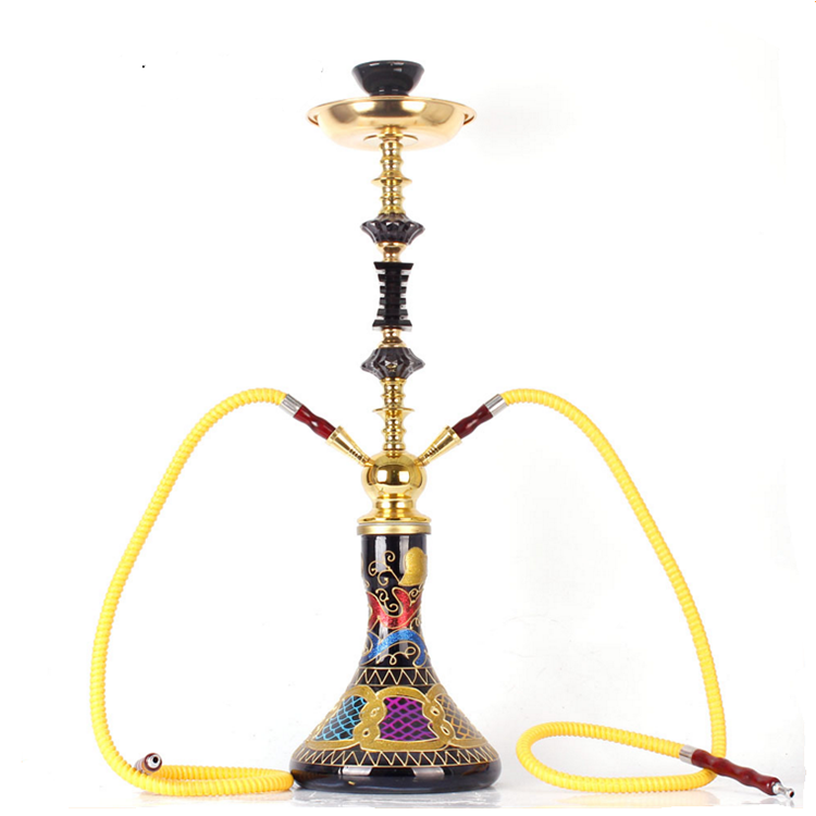 GERUI Factory Direct Supply 70CM Wholesale Novelty Shisha Art Glass Hookah Electric Hookah Prices