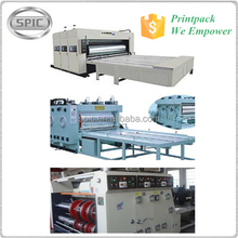Semi Automatic Ink printing slotting die cutting machine for corrugated paper