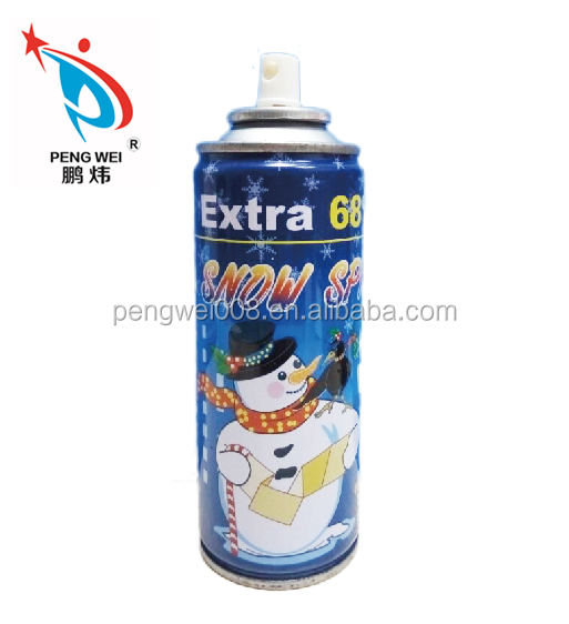 High quality christmas colored snow spray