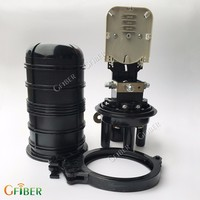 Gfiber telecom ip68 enclosure manhole for optical fiber
