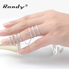 Fashion Jewelry Ring Full Finger Knuckle Silver Plated Ring