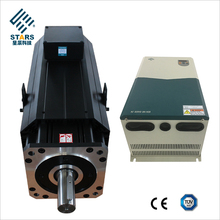3kw to 120kw middle high torque permanent magnet synchronous servo motor with drive for hydraulic pump control