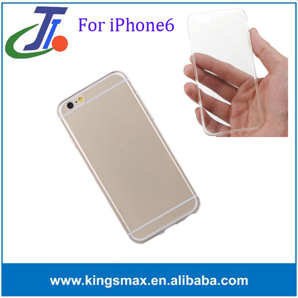 Hot selling clear tpu case for iPhone6 hot new products for 2015